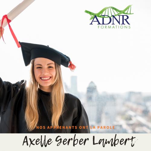 Axelle Gerber Lambert – les apports de la naturopathie