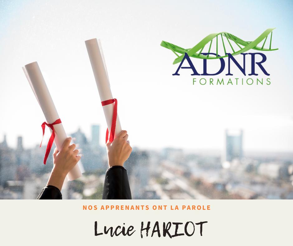 Lucie HARIOT – Le rééquilibrage alimentaire et l'importance de l'alimentation sur notre état de santé.