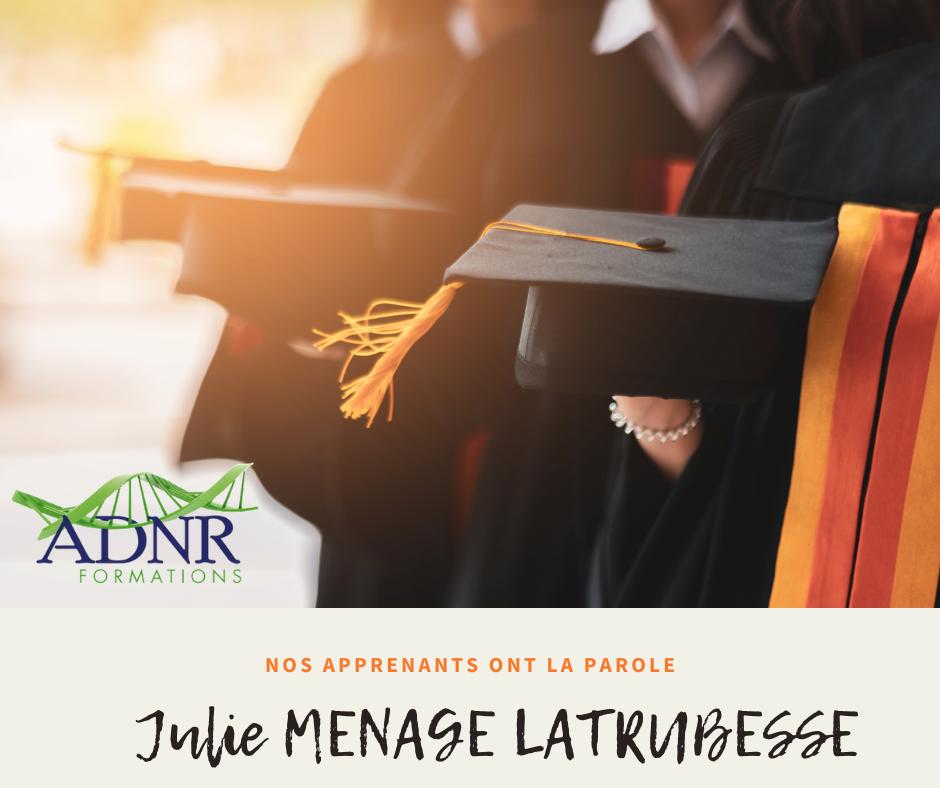 Julie MENAGE LATRUBESSE – La prise en charge du sportif et comment améliorer ses performances grâce à la naturopathie